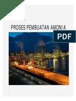 Presentasi Proses Ammonia