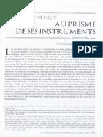 Lascoumes, P., Simard, L. L'Action Publique Au Prisme de Ses Instruments