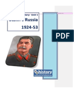 d4 Stalin Revision Notes