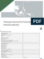 Volkswagen Dealership Application Form July12