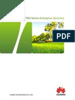 HUAWEI S2700 Switch Datasheet