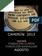 Viaje Humanitario Camerún 2013