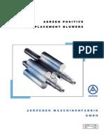 Aerzen Blowers General Catalogue(ATTACHMENT2)