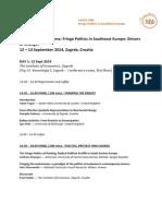 Fringe Politics in Southeast Europe