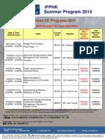IFPHK Summer Promotion 2014