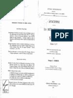 Avicenne. La Metaphysique Du Shifa (I-V)