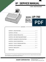 Sharp UP-700 Cash Register Sm