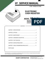 Sharp XEA101 Electronic Cash Register Sm