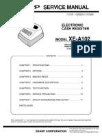 Sharp XEA102 Cash Register Sm