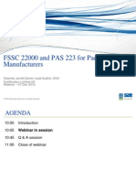 FSSC 22000 and PAS 223 for Packaging Manufacturers