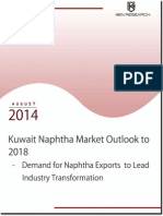 Kuwait Naphtha Market Future Outlook & Projections, 2014-2018
