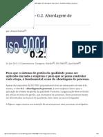 ISO 9001_2008 – Abordagem de Processo