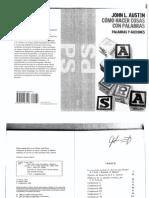 Como Hacer Cosas Con Las Palabras Austin CONFERENCIA 2 PDF