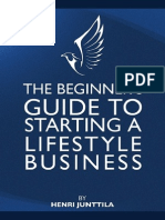 Beginners Guide to Lifestyle Business (by Henri Junttila)Henri