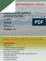 Apresentaçao Final Sbre a Teoria Cinetica Dos Gases Semin Ario