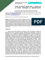 Artigo Currículo MG Química