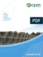 CPM Drainage Brochure 2012