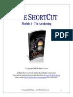 The Shortcut - Module 1 TheAwakening