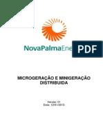 Acesso de Mini e Microgeracao Distribuida 2013