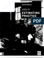 Code of Procedure for Estimating Part 1