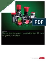 Elementos Mando y Senalizacion 22mm_1TXA151023C0701-0310