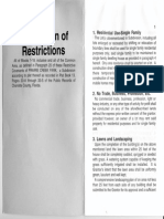 pcp deed restrictions
