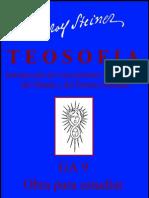 GA 009 - TEOSOFIA - RUDOLF  STEINER - español
