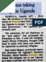 1978-08-17 Eugene Register Guard - Rwandans Taking Refuge in Uganda