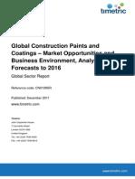 Global Construction Paints & Coatings Market