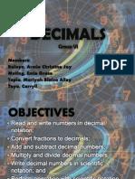 Decimals Presentation
