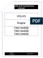 Operation Manual Volvo Tad1343ge