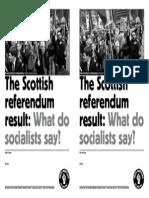Scots Referendum SWSS A5