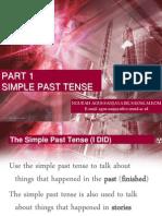 Part 1 - Simple Past Tense
