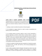 Anexo Protocolo Presentado Por La Secretaria de Educación de Bogotá