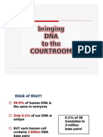 Dna in the Courts
