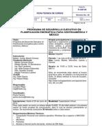 Ficha Técnica PDEPE Redeo