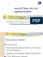 Ppt Clean Air Act