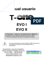 Manual t One Evo I_ii