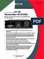 M 3425A SP Spanish