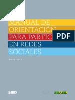 Manual de Orientacion para Participacion en Redes Sociales