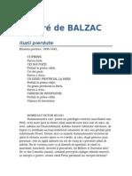Honore de Balzac Iluzii Pierdute 1-0-09