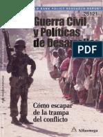 Guerral Civil y Politicas de Desarrollo Como Collier