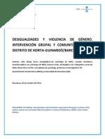 Desigualdades y Violencia de Género- Intervención Grupal y Comunitaria en Barcelona - Masip Serra Et Al (Spanish)