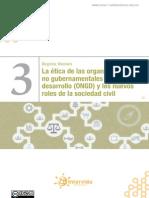 3- La Etica de Las Ong y Los Nuevos Roles de La Sociedad Civil