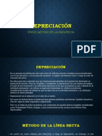 Depreciación Ultimo
