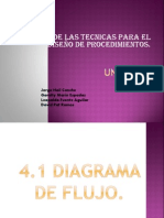 Unidad IV.analisis de Las Tecnicas Para El Diseño de Procedimientos.