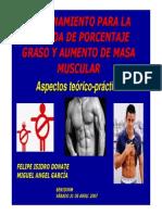 Entrenamiento Bajada Porcentaje Graso Aumento Masa Muscular