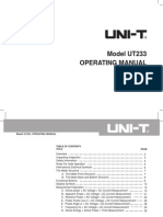 UT233 Eng Manual