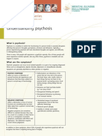 Understandng Psychosis-fact Sheet Series