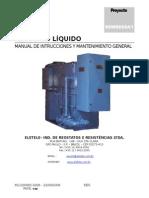 Manual Reostato Liquido -ELETELE